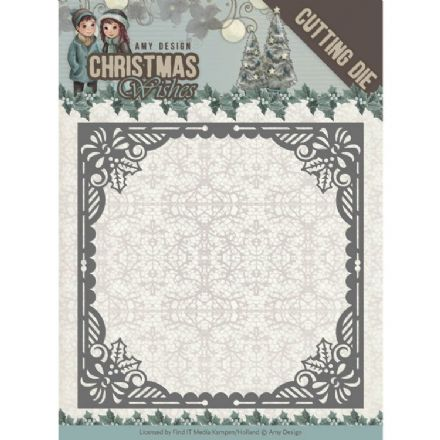 ADD10147 ~ Baubles Frame Die~ Christmas Wishes  ~ Amy Design